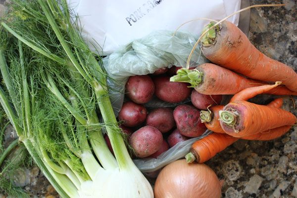 Roast pork loin with fennel- easy one pot dinner