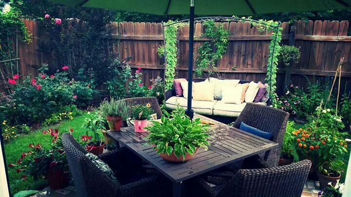 Small backyard paradise | For the Home | Pinterest
