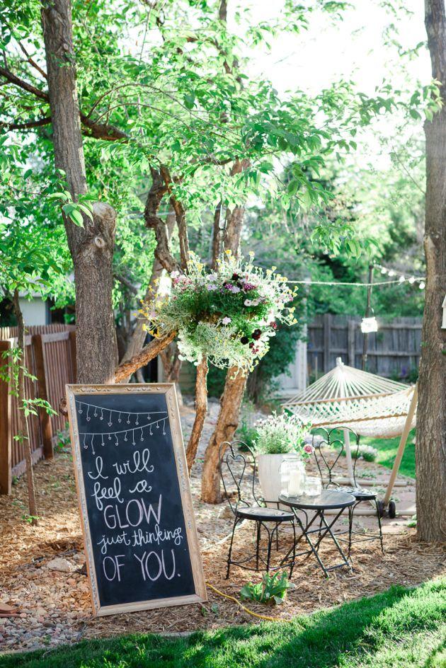 Elegant Backyard Engagement Party Ideas : backyards