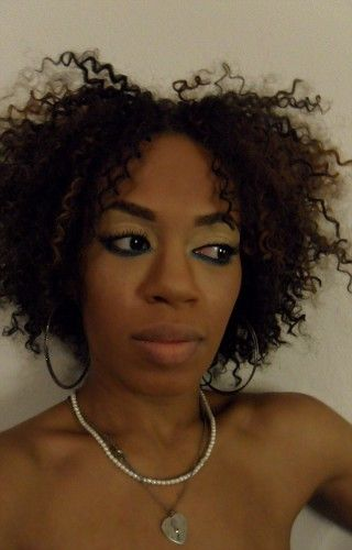 Crochet braids with Freetress Water Wave bulk, nice!