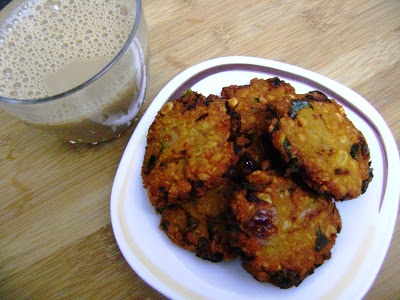 PARIPU VADA (SPICY LENTIL FRITTERS-INDIAN RECIPE)