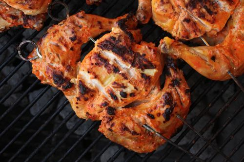 Tandoor-Style Grilled Chickens or Cornish Hens | Serious Eats ...