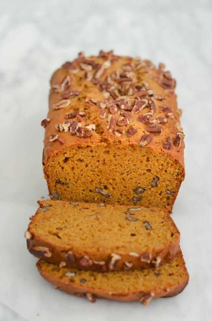 Sweet Potato Bread w. Pecans Recipe {Reduced Fat} #breakfast #lowfat ...