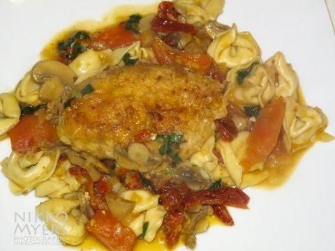 tomato-sherry chicken | chicken entree | Pinterest