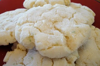 Chewy Coconut Lime Cookies - another recipe to try. Omit powdered ...