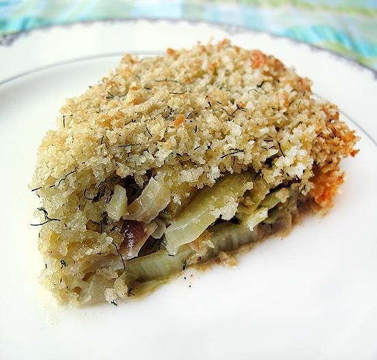 Fennel and Apple Gratin | Lovely food - fennel | Pinterest