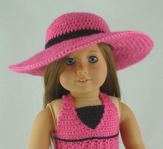 Amigurumi Hello Kitty Angel : Wide Brimmed Sunhat -PDF Crochet Pattern -for American ...