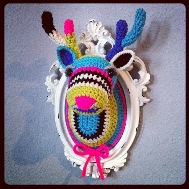 Inspiration crochet deer head