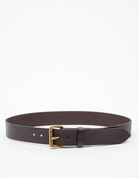 bridle leather belt filson just in