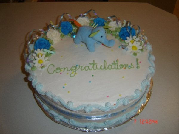My own baby Shower Cake