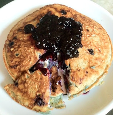 blueberry cheesecake pancakes | Sweet!!! | Pinterest