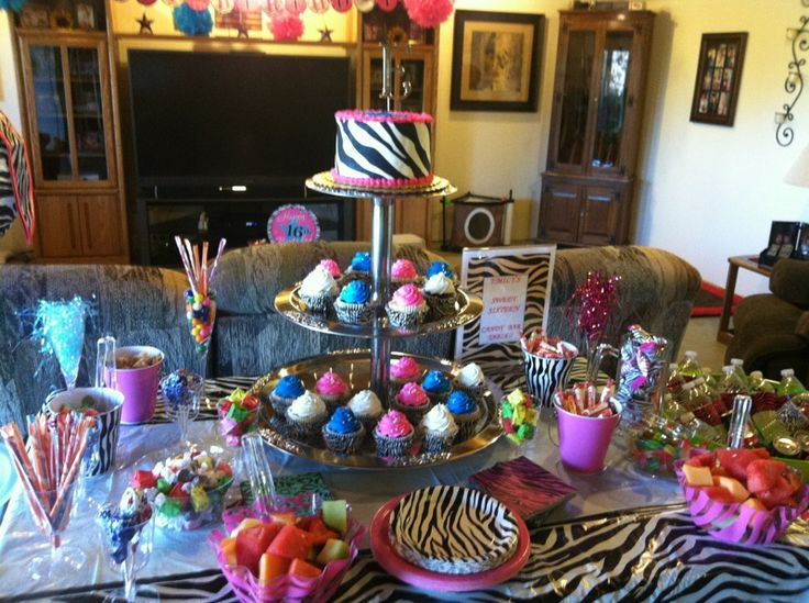 Candy Bar Sweet 16 Ideas Pinterest