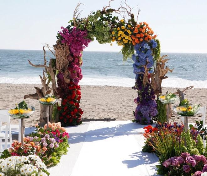 Beach Wedding Ceremony Decorations : Beach wedding ceremony decor