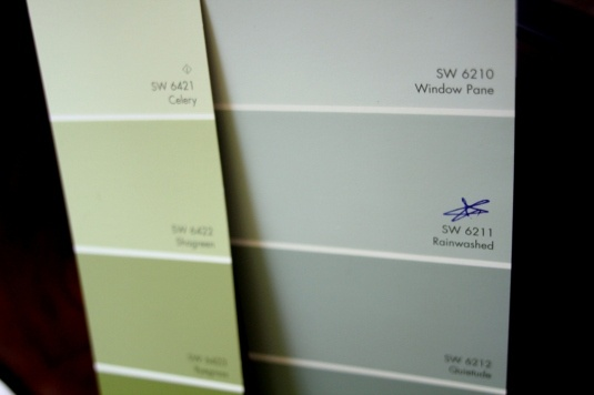 sherwin williams rainwashed paint-could be good in the living room ...