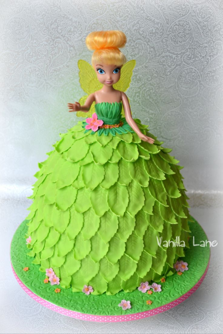 Tinkerbell Doll Cake Design : Tinker Bell (Disney) doll cake PARTY IDEAS- Tinkerbell ...