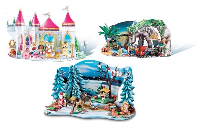 Playmobil Advent Calendars 2012 | Christmas | Pinterest
