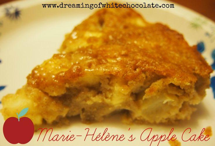 Marie-Hélène's Apple Cake - from Epicurious --a tender, moist cake ...