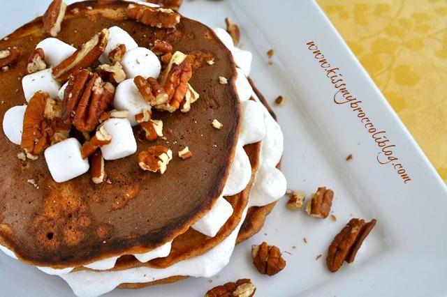 Sweet Potato Pie Pancakes | Breakfast | Pinterest