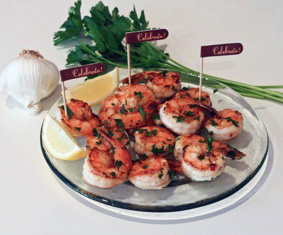 Easy Lemon Garlic Shrimp | Recipe