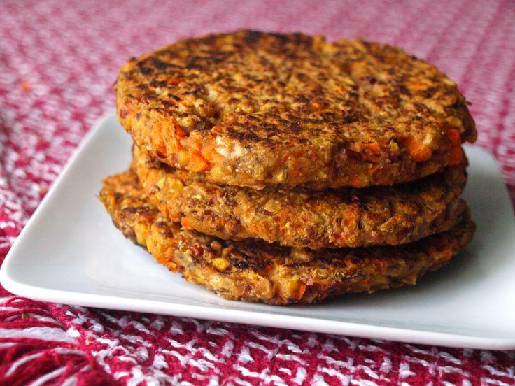 Homemade Black Bean Burgers | Veggie Burgers & Dogs | Pinterest