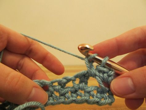 Crochet Stitches Esc : extended single crochet tutorial Crochet it . . Pinterest