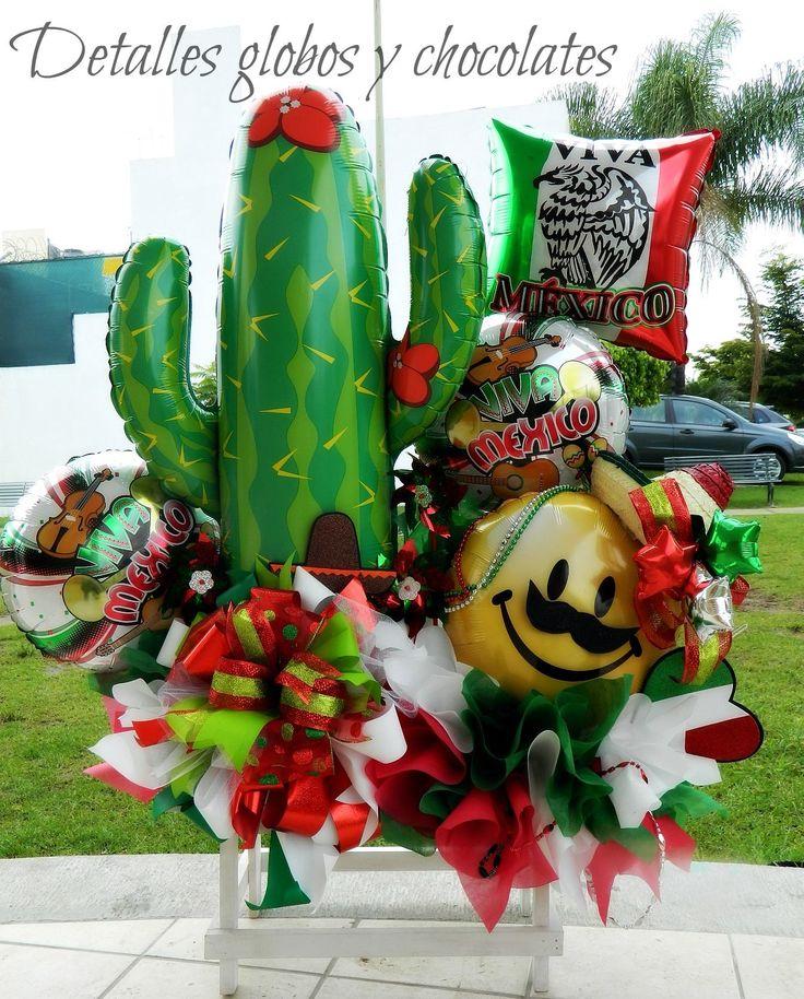 Decoracion Septiembre Mexico ~ Uploaded to Pinterest