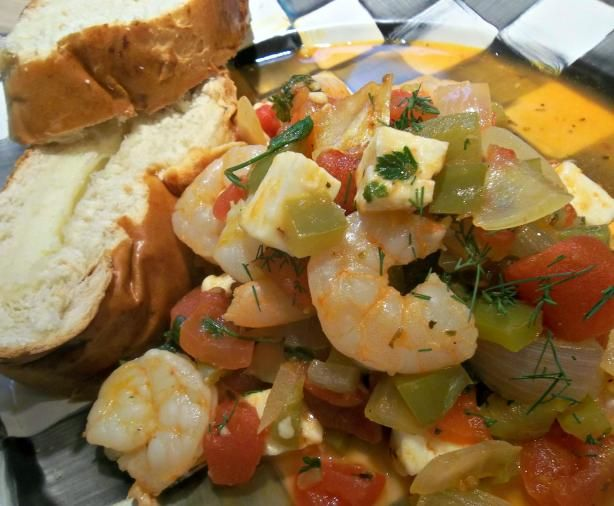 Greek-Style Shrimp With Tomatoes and Feta-America's Test Kitchen | Re ...