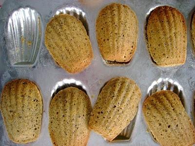 EARL GREY TEA MADELEINES   Baked Yummies   Pinterest