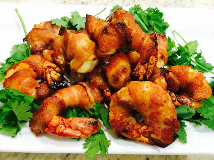 Chipotle Lime Shrimp Wrapped in Bacon | Inspired Accounts