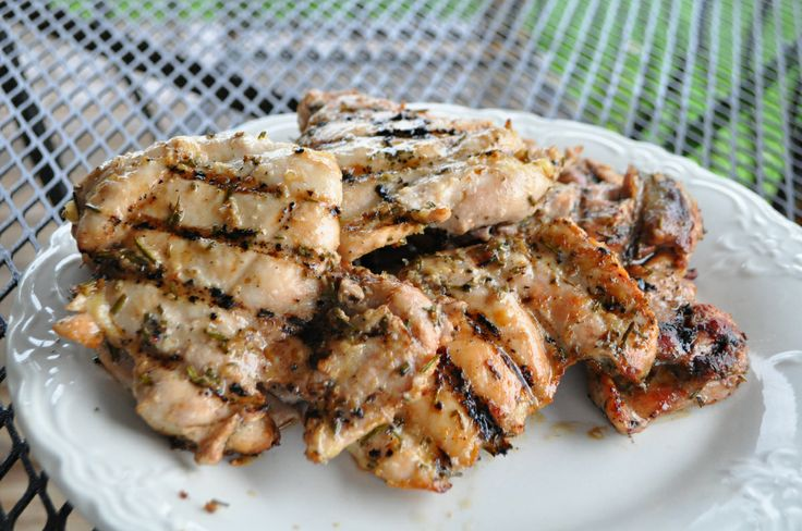 Rosemary Garlic Grilled Chicken | food | Pinterest