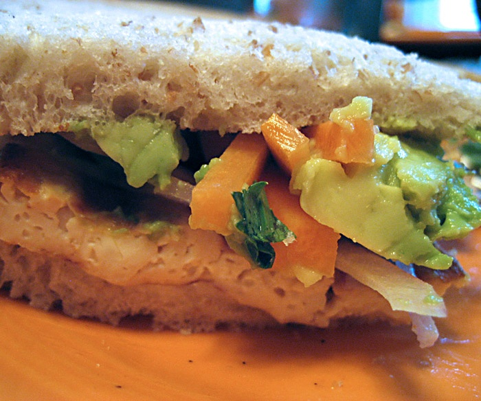 Aaron's grilled tofu sandwich | The Foodie in me.... | Pinterest