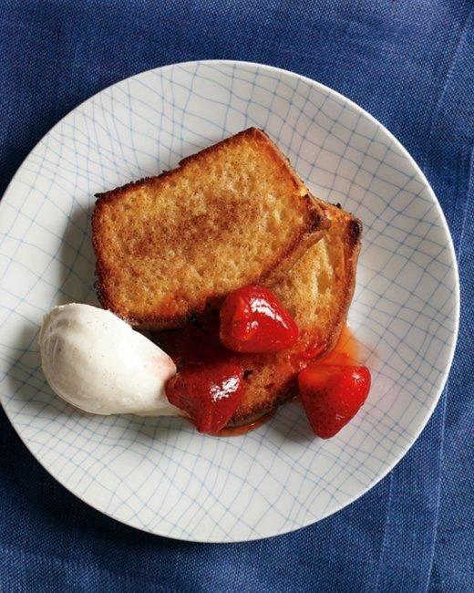 Cinnamon-Toasted Pound Cake Recipe