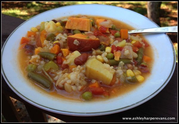how to cook potatoes for vegetable soup
