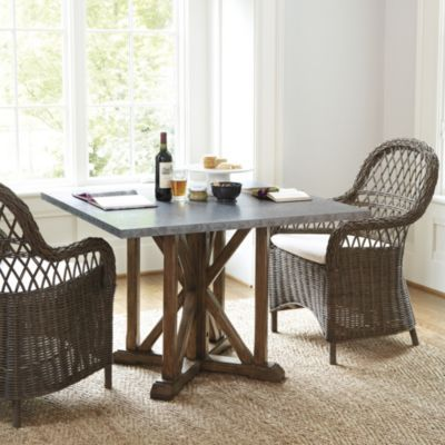 Dining table ballard designs dining table for Exclusive dining table designs