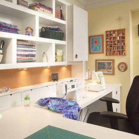 "sewing Room"" Design Ideas, Pictures, Remodel and Decor"