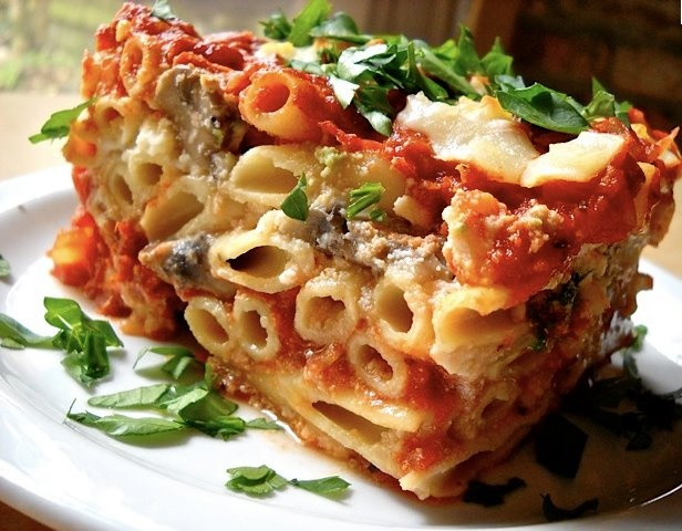 yummly lasagna style baked ziti baked ziti lasagna style baked ziti ...