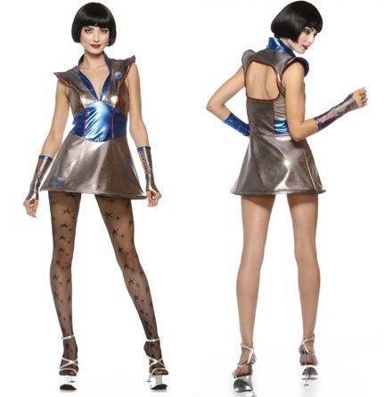 fdw womens lip service galaxy girl space costume halloween. Black Bedroom Furniture Sets. Home Design Ideas