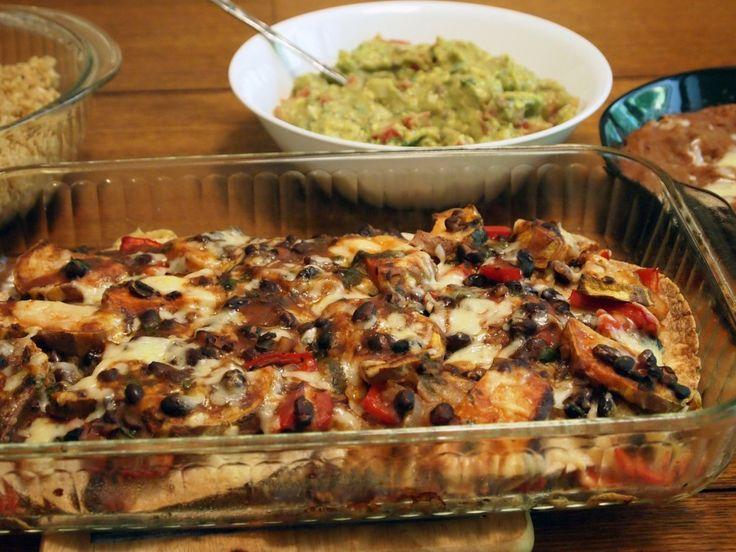 Meatless Quesadilla Casserole   Meatless   Pinterest