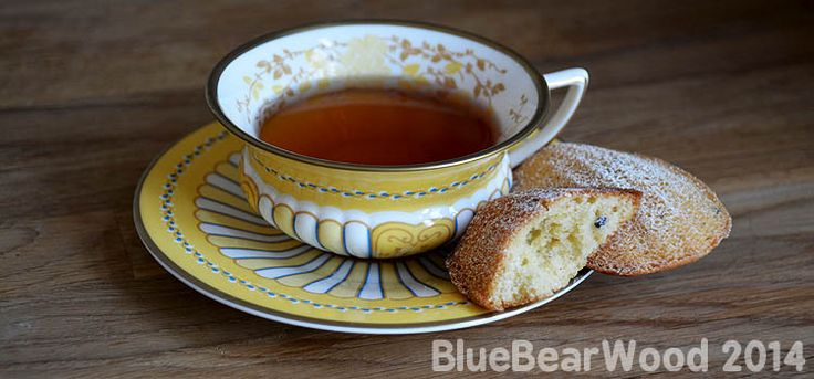 Lavender Madeleine and Earl Grey Tea | cake | Pinterest