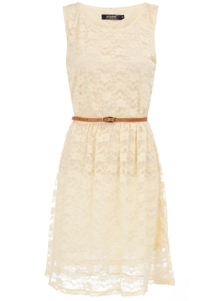simple cream lace