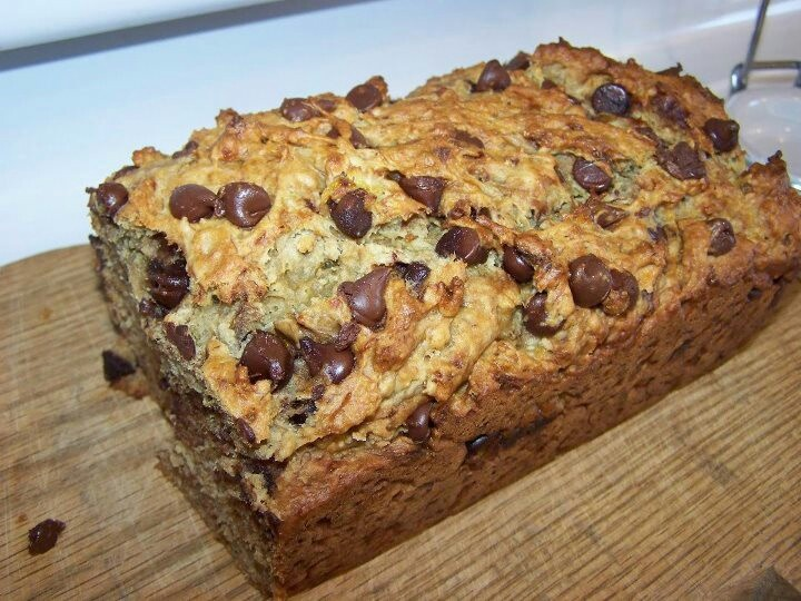 Banana Chocolate Chip Bread♥ | Breads | Pinterest