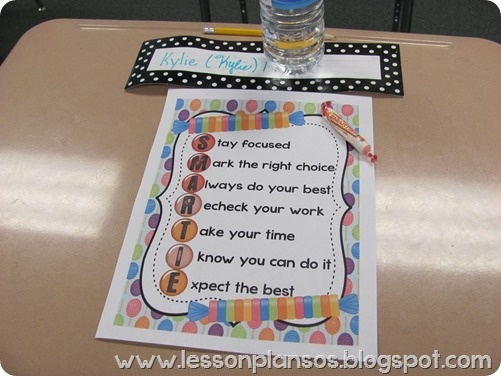 testing treats and cute ideas   For the Teacher in Me ... Smarties Test