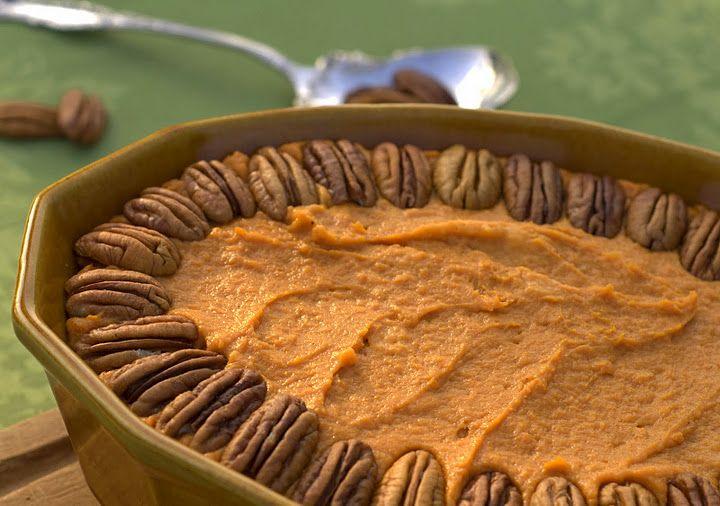 WLS friendly Caramel Pecan Sweet Potato Casserole -no sweetener