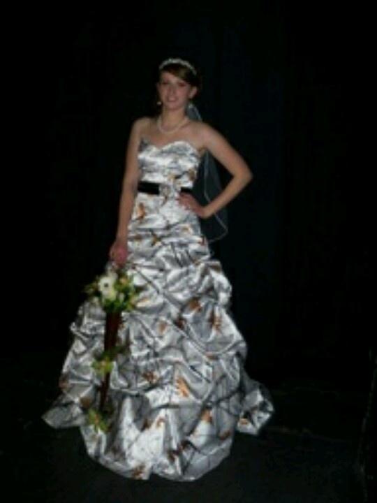 Pretty redneck wedding dress