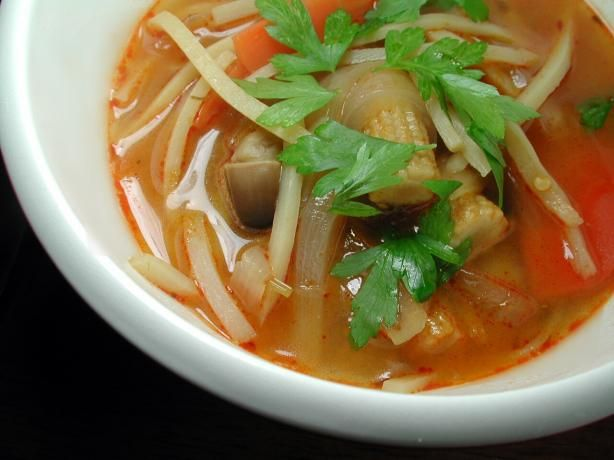 """Hot & Sour Soup: """"My kids love this soup, as do I. It's a great ..."""
