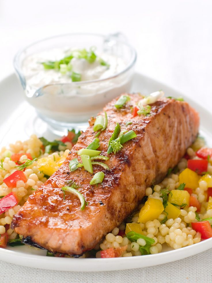 Easy Grilled Salmon Recipe | Food, Drinks & Desserts | Pinterest