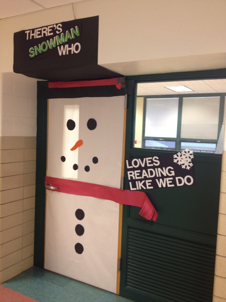 Classroom Door Decor For Winter ~ Classroom door decoration for winter