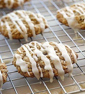 iced-pumpkin-oatmeal-cookies | Bars and Cookies | Pinterest