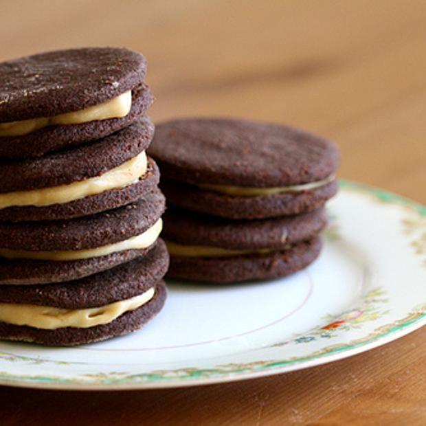Chocolate Espresso Sandwich Cookies   Sweet Recipes   Pinterest
