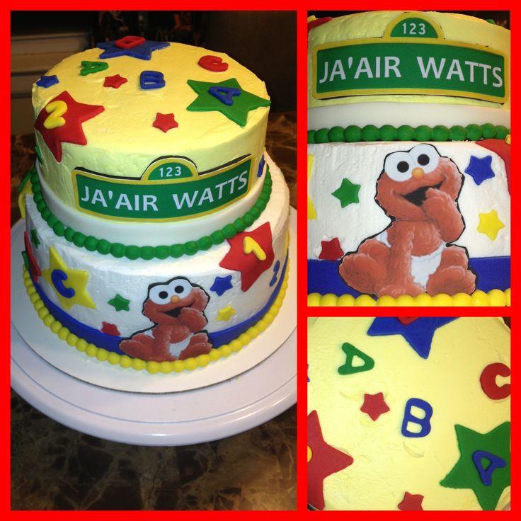 elmo baby shower cake nikkicakes pinterest